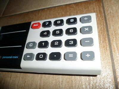 Taschenrechner Calculator Casio Personal Mini weiss (Mini-taschenrechner Casio)