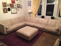 Italian Leather sofa - BUY NOW - Excellent Condition