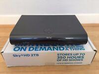 Sky+ HD satellite receiver box, 2TB