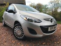 *12 MTHS WARRANTY*1 FORMER LADY DENTIST OWNER*20011(11)MAZDA 2 1.3TS 3DR(A/C) WITH ONLY 69K*