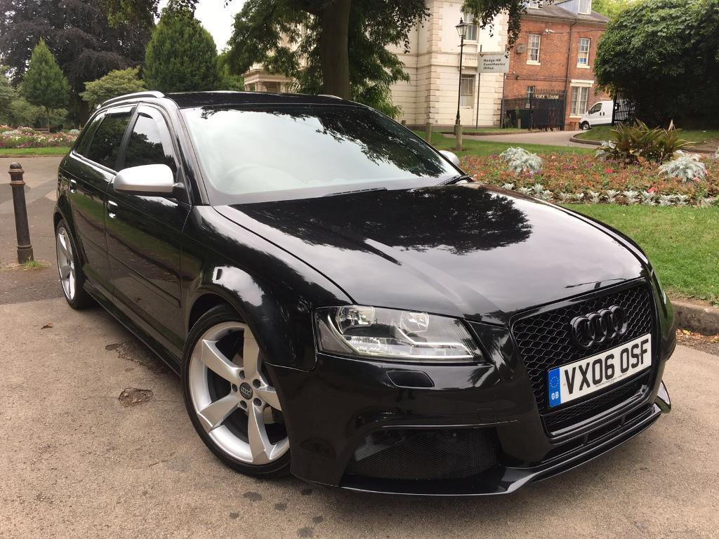 AUDI A3 2 0 TDI DSG S LINE 2006 5 DOOR SPORTBACK FULL 2012 RS3 REPLICA  FULLY LOADED | in Stechford, West Midlands | Gumtree