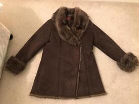 Monsoon Ladies Winter Coat Size 12 - £40.00