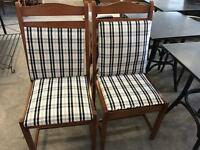 As new 4 Dinning chairs