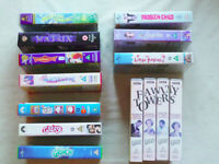 Collection of 14 VHS Videos - (Warner Bros, Paramount, 20th Century Fox, BBC)