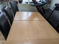 dining table with 4 chair leeds Extendable Table and chairs