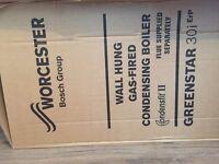 Worcester 30i Greenstar Boiler incl Flue, brand new in box including 5 year warranty
