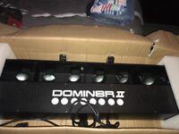Domin8er 2 led disco light nearly new