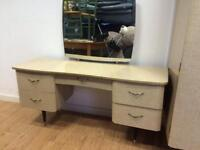 Mid century 60s dressing table