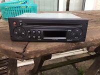 Renault Clio mk2 2001-2005 radio stysem