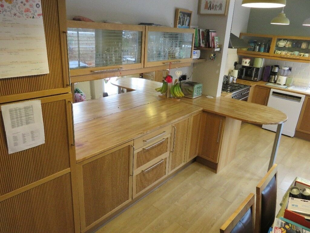 Ikea Kitchen For Sale Solid Wood Doors Carcasses And Worktops In