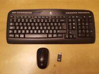 Logitech MK320 Wireless Keybord + Mouse