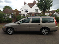 VOLVO V7O D5 AUTOMATIC DIESEL ESTATE 1 OWNER SINCE 2007 MOT APRIL 2018 FULL SERVICE HISTORY