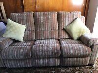 Parker Knoll Manual Recliner Sofa