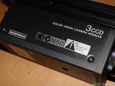 Sony Xc-003 3 Ccd Donpisha Color Video Camera Module Sensor Module Wo Acces