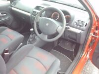 Renault Clio 1.2 Extreme Exclusive Interior Fully Serviced Nice and Clean car New MOT for a year