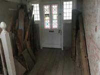 Free timber for log burner