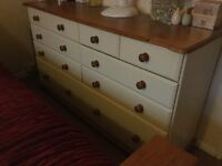 10 drawer solid chest drawers