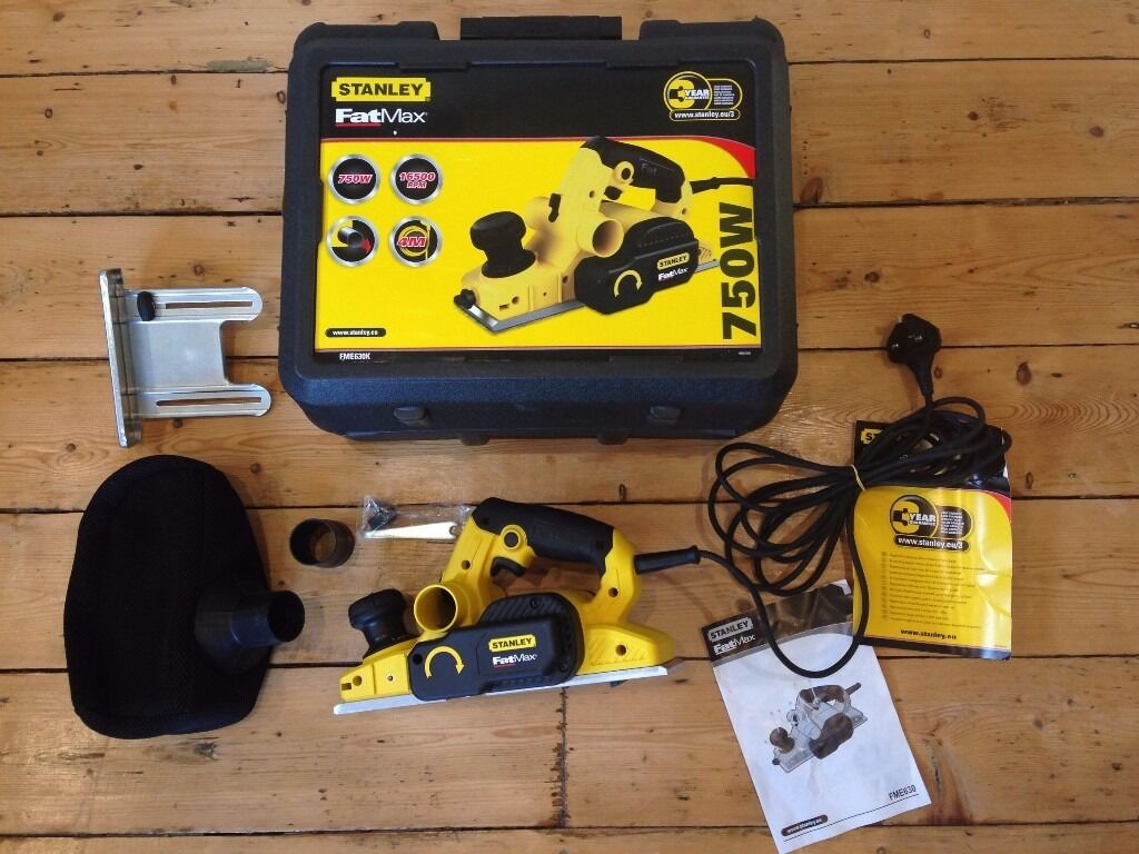 Stanley Fatmax 750w Electric Planer 240v Barely Used In Brackley What Does An Do