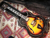 IBANEZ LGB30 GEORGE BENSON MODEL ARCHTOP JAZZ GUITAR MINT CONDITION