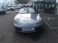 CONVERTIBLE!! 2003 02 PORSCHE BOXSTER 2.7 SPYDER 2D 228 BHP **** GUARANTEED FINANCE ****
