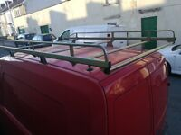 Plasters roof rack for Vauxhall combo with roller bar