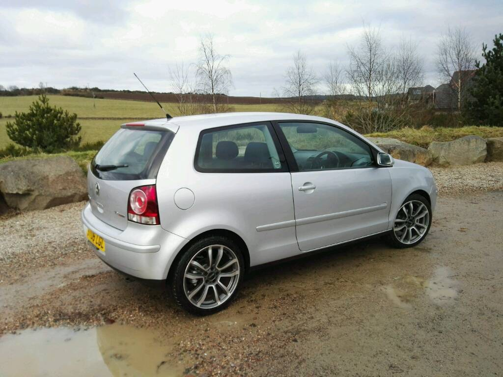 2006 volkswagen polo 1 9 tdi sport 12 months mot fsh 4x winter tyres in kemnay. Black Bedroom Furniture Sets. Home Design Ideas