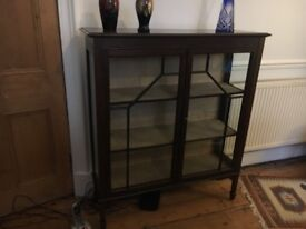 Edwardian Display Cabinet in good condition.