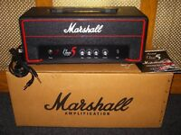 Marshall Class 5 Red Roulette Limited Edition valve head