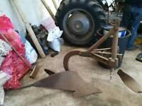 Vintage Ferguson single plough