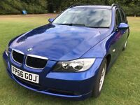 BMW 320I ES Touring Blue Automatic Low mileage 64000