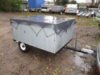GALVANISED STEEL 5 X 4 X 2+ BOX TRAILER (CAMPING TRAILER)..........
