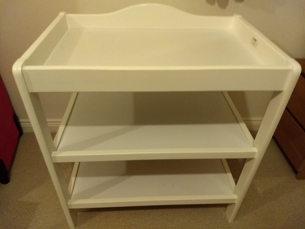 Babies R Us White Wooden Changing Table