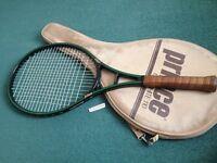 "Prince Graphite 110 Original Tennis Racket 4.5"" grip (9 pics inside)"