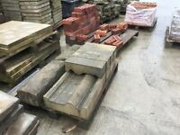 3 X 2 reclaimed concrete paving in good condition
