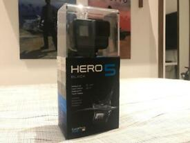 GoPro Hero 5 Black IMMACULATE USED ONCE!