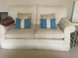 Matching pair 2-seater Laura Ashley couches