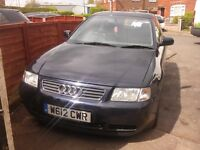 Audi A3 sport relisted due to time waters