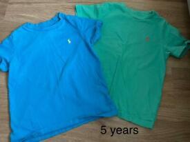 Bundle of boys designer clothes