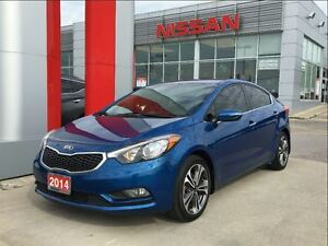2014 Kia Forte EX, heated seats, backup camera, Bluetooth