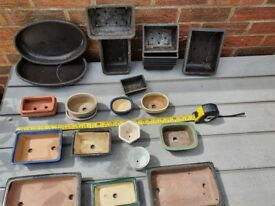 Selection of Bonsai Pots