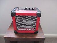 Roland Microcube Guitar Practice Amp (original) in Red