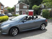PEUGEOT 307 CC SPORT SE 2.0 HDI FACTORY SAT NAV AND LEATHER