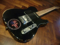 Fender Telecaster. Relic with massive upgrades. MIM 2004