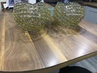 Pair of Next Viennese Ceiling Lights