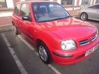 1999 NISSAN MICRA 1.0...LOW MILES...12 MONTHS MOT..PRIVATE PLATE ROBERTO