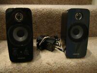 Creative Inspire T10 multi media speakers (mint condition)