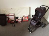 Phil and Ted Sport pushchair pram + inline double kit and lots of extras