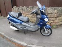 Practically brand new condition Piaggio x9 250 cc evolution, very low mileage example.