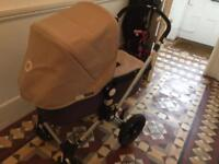 Bugaboo cameleon with carrycot and accessories