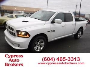 2014 Dodge Ram 1500 Sport (Leather, Navigation & Sunroof)
